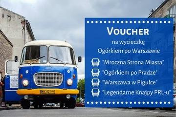 Voucher na prezent Wycieczka Ogórkiem po Warszawie доставка товаров из Польши и Allegro на русском