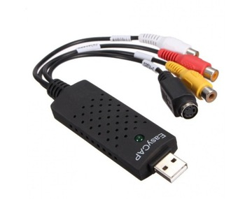 Копирование VHS grabber CVBS s-video USB stream доставка товаров из Польши и Allegro на русском