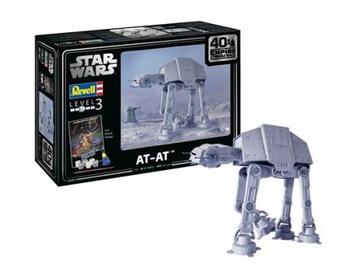 AT-AT + краски, клей Revell 05680 1/53 Star Wars доставка товаров из Польши и Allegro на русском