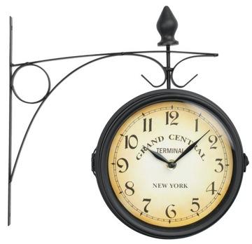 Настенные часы двусторонний dworcowy NEW YORK loft доставка товаров из Польши и Allegro на русском