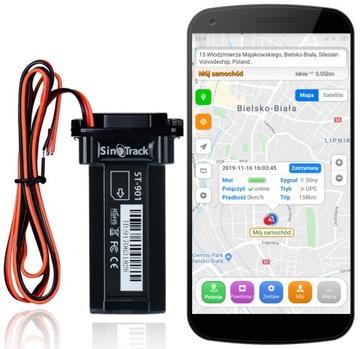 GPS локатор для автомобиля, мотоцикла, мониторинг доставка товаров из Польши и Allegro на русском