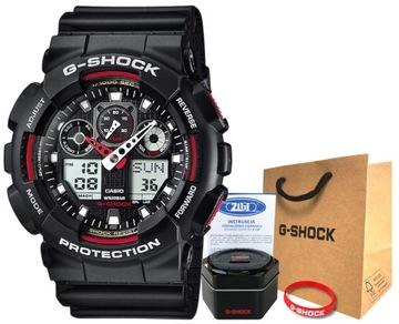 Часы Casio G-SHOCK GA-100-1A4ER 20BAR голограмма доставка товаров из Польши и Allegro на русском