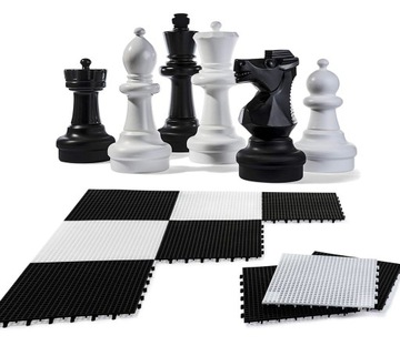 Набор Гигантские Садовые Шахматы, Rolly Toys 64см доставка товаров из Польши и Allegro на русском