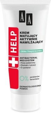 AA Help Кожа Trądzikowa крем флюид увлажняющий доставка товаров из Польши и Allegro на русском