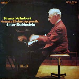 M - Schubert Rubinstein - Sonate B-dur Op. Posth. доставка товаров из Польши и Allegro на русском