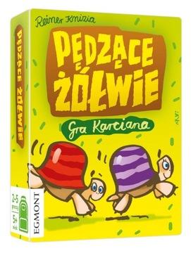 Gra karciana rodzinna PĘDZĄCE ŻÓŁWIE доставка товаров из Польши и Allegro на русском