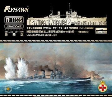 FLYHAWK 1153S 1:700 HMS Prince of Wales 1941 Delux доставка товаров из Польши и Allegro на русском