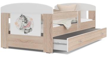 Кровать ФИЛИПП COLOR 160x80 + ящик + матрас доставка товаров из Польши и Allegro на русском