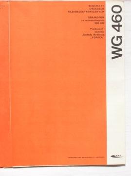GRAMOFON ZE WZMACNIACZEM WG-460 INSTRUKCJA SERWISO доставка товаров из Польши и Allegro на русском