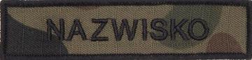Name Patch NASZYWKA Nazwisko IMIENNIK WZ2010 US-22 доставка товаров из Польши и Allegro на русском