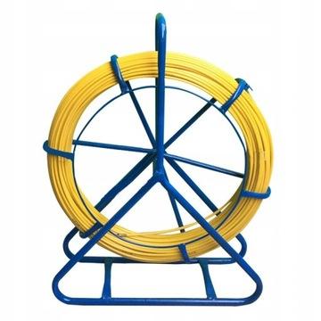 Волокно для протяжки кабелей / Stalka 8,0 мм/100 м доставка товаров из Польши и Allegro на русском