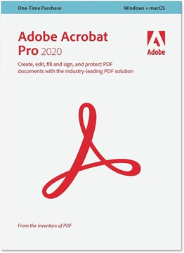ADOBE ACROBAT Pro DC v. 2020 WIN MAC Professional доставка товаров из Польши и Allegro на русском