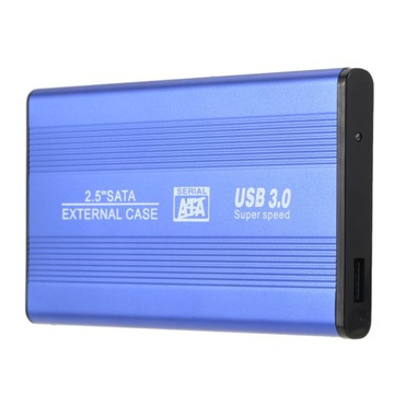 KIESZEŃ OBUDOWA NA DYSK HDD 2,5'' SATA USB3.0 1TB доставка товаров из Польши и Allegro на русском