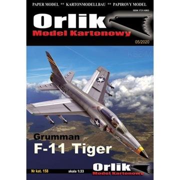 Орлик 158 - Истребитель Grumman F-11 Tiger 1:33 доставка товаров из Польши и Allegro на русском