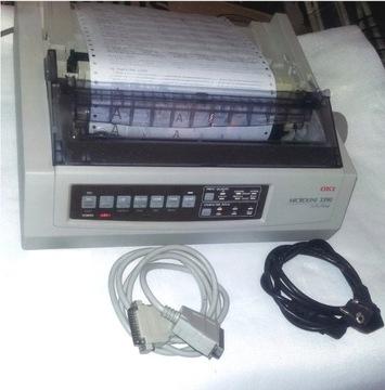 24-контактный принтер OKI 3390 LPT 12mGWAR / FV доставка товаров из Польши и Allegro на русском