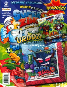 SUPER ZINGS! MAGAZYN wyd.spec. nr 1/20 URODZINY Z доставка товаров из Польши и Allegro на русском