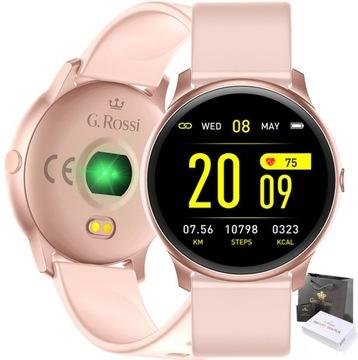SMARTWATCH наручные часы GINO ROSSI SMS ШАГИ FB ПУЛЬС доставка товаров из Польши и Allegro на русском