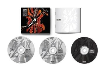 METALLICA S&M2 2CD+BLU-RAY Deluxe Edition доставка товаров из Польши и Allegro на русском