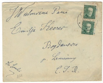 Австрия 1917 Письмо Mi 188 Опава-Мехув доставка товаров из Польши и Allegro на русском