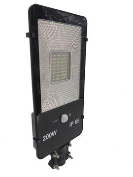 LATARNIA ULICZNA LAMPA SOLARNA 200W LED + PILOTEM доставка товаров из Польши и Allegro на русском