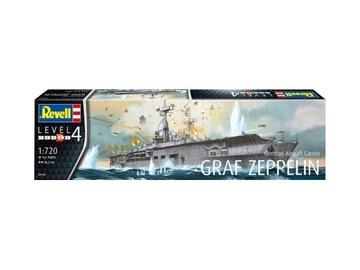 REVELL 05164 GERMAN AIRCRAFT CARRIER GRAF ZEPPELIN доставка товаров из Польши и Allegro на русском