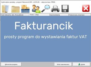 Простая программа для выставления счетов / счетов доставка товаров из Польши и Allegro на русском