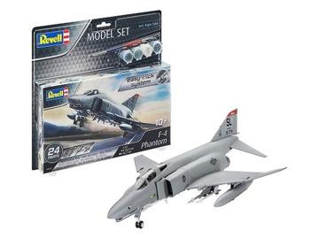 REVELL МОДЕЛЬ ДЛЯ ПРЕДСТАВЛЕНИЯ ИСТРЕБИТЕЛЬ F-4E PHANTOM доставка товаров из Польши и Allegro на русском