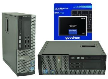 Komputer DELL i5 8GB nowy 256GB SSD Windows KlasaA