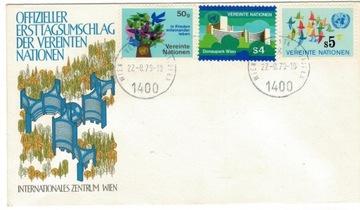 FDC ООН Вена, 1979 птицы номер парк доставка товаров из Польши и Allegro на русском