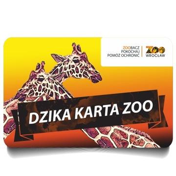 Voucher karta roczna do ZOO Wrocław prezent ULGOWA доставка товаров из Польши и Allegro на русском