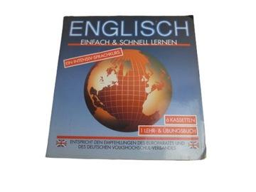 Кассеты magnetofonowe НОВЫЙ набор на английский язык доставка товаров из Польши и Allegro на русском