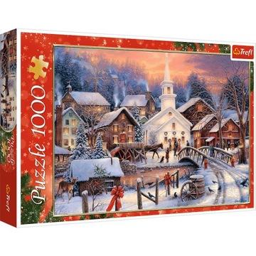 Пазл 1000 шт - Белое Рождество доставка товаров из Польши и Allegro на русском