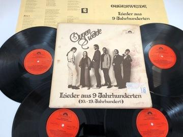 Ougenweide Lieder Aus 9 Jahrhunderten ---4LP BOX доставка товаров из Польши и Allegro на русском