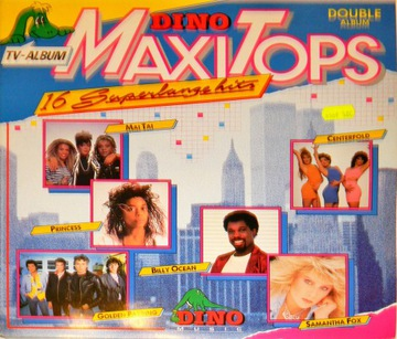 16 Dino Maxi Tops 1986 SKŁ 2x12'' Samantha Fox доставка товаров из Польши и Allegro на русском
