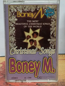BONEY M. - CHRISTMAS SONGS - MC доставка товаров из Польши и Allegro на русском