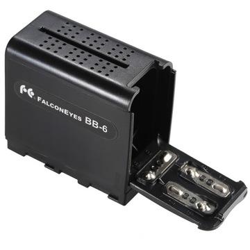 Адаптер NP-F970 AA батарея аккумуляторная BB-6 GDN доставка товаров из Польши и Allegro на русском