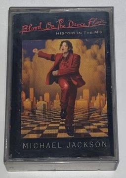 JVR  MICHAEL JACKSON - Blood On The Dance...  MC доставка товаров из Польши и Allegro на русском