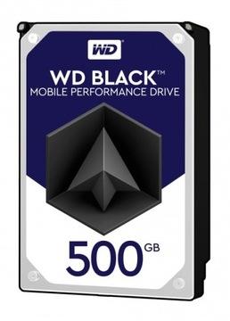 Жесткий диск WD BLACK 500GB 2,5