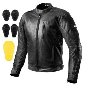SHIMA HUNTER+ Куртка специальная одежда для мотоциклистов кожаная +ХАЛЯВА доставка товаров из Польши и Allegro на русском