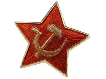 Czerwona gwiazdka znaczek ZSRR używana доставка товаров из Польши и Allegro на русском