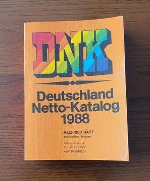 Katalog niemieckich znaczków pocztowych DNK 1988 доставка товаров из Польши и Allegro на русском