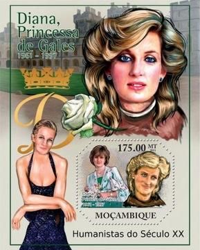 Księżna Diana Humaniści XX w Mozambik #51MOZ11318b доставка товаров из Польши и Allegro на русском