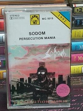 Sodom - PERSECUTION MANIA - MC доставка товаров из Польши и Allegro на русском