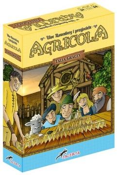 Настольная игра AGRICOLA Талия Игроков ДОПОЛНЕНИЕ REBEL доставка товаров из Польши и Allegro на русском