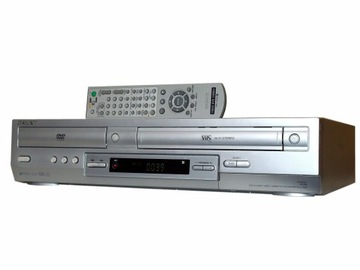 SONY Combo DVD-VHS 6GŁOWIC NTSC: SP/LP Mp3 S-VHS доставка товаров из Польши и Allegro на русском