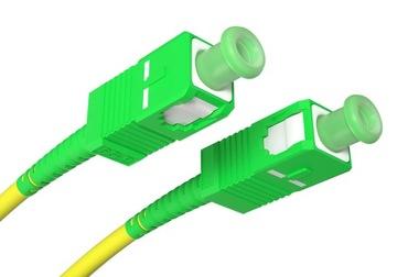 Patchcord światłowód kabel SC/APC-SC/APC 10m simpl доставка товаров из Польши и Allegro на русском