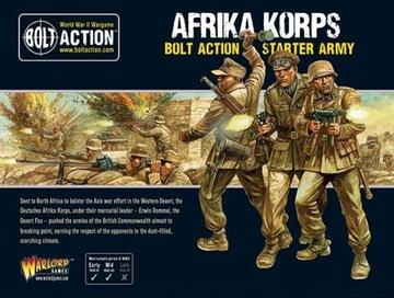 Afrika Korps Bolt Action Starter Army доставка товаров из Польши и Allegro на русском