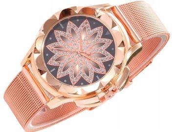 Damski Zegarek na rękę Bransoleta Mesh Qstar a282
