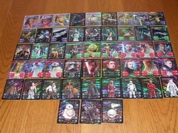 KARTY Star Wars Kaufland komplet 48 szt. HOLOGRAMY доставка товаров из Польши и Allegro на русском