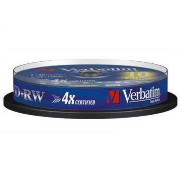 ДИСК VERBATIM DVD+RW LO, 4,7 ГБ, СКОРОСТЬ 4X CAKE доставка товаров из Польши и Allegro на русском